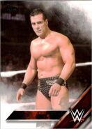 2016 WWE (Topps) Alberto Del Rio 2