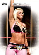 2017 WWE Women's Division (Topps) Kelly Kelly 47