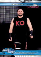 2019 WWE Road to WrestleMania Trading Cards (Topps) Kevin Owens 73