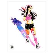 AJ Lee Art Print