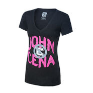 John Cena U Can't C Me Tri-Blend Women's V-Neck T-Shirt