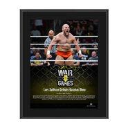 Lars Sullivan NXT WarGames 10 x 13 Commemorative Photo Plaque