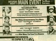 Saturday Night's Main Event XI Ad