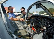Shawn Michaels Visits the Randolph Air Force Base