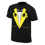 Ted DiBiase Money Dollar Tuxedo T-Shirt