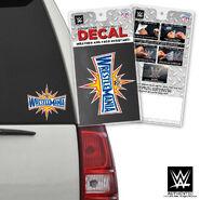 WrestleMania 33 Car Decal