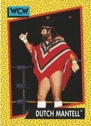 1991 WCW (Impel) Dutch Mantell 76