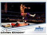2013 WWE (Topps) Damien Sandow (No.52)