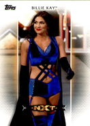 2017 WWE Women's Division (Topps) Billie Kay 3