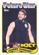 2018 WWE Heritage Wrestling Cards (Topps) Johnny Gargano 100