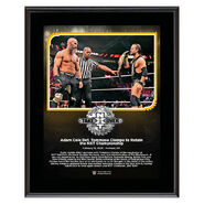 Adam Cole NXT TakeOver Portland 10 x 13 Limited Edition Plaque