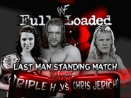 Triple H vs. Chris Jericho Fully Loaded 2000