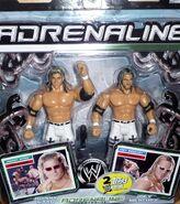 WWE Adrenaline Series 16 Johnny Nitro & Joey Mercury