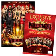 WrestleMania 35 Program & Match Card Package