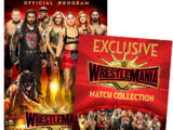 WrestleMania 35 Program & Match Card Package
