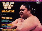 WWF Magazine - April 1993