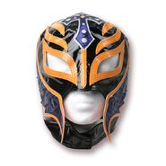 Rey Mysterio Black & Orange Replica Mask
