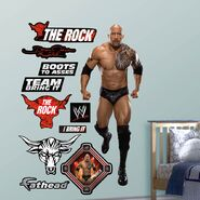 The Rock 54 x 60 Fathead
