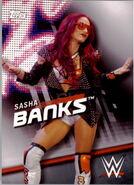 2016 WWE Divas Revolution Wrestling (Topps) Sasha Banks 33
