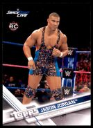 2017 WWE Wrestling Cards (Topps) Jason Jordan 45