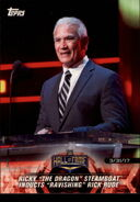 2018 WWE Road to Wrestlemania Trading Cards (Topps) Ricky Steamboat 21