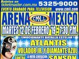 CMLL Martes Arena Mexico (February 12, 2019)