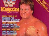 WWF Magazine - December/January 1986/87