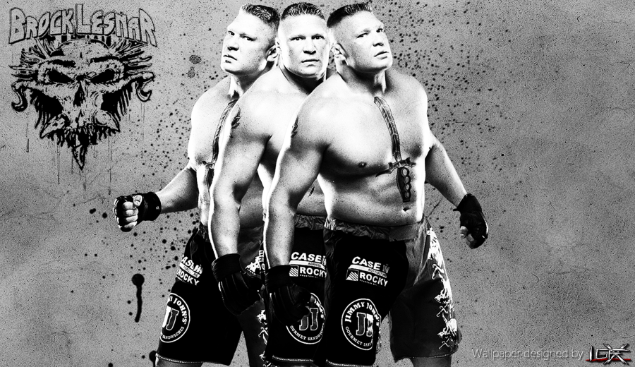 New Brock Lesnar Wwe Wallpaper By Mrigfx D4wge7d