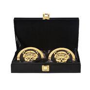Stone Cold Steve Austin WWE World Heavyweight Championship Replica Title Side Plate Box Set