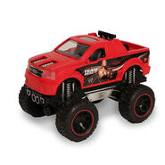 The Rock Ford F-150 Lightning Push-N-Go Raging Racer