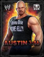 WWE Champions Poster - 026 SteveAustinJeansTshirt