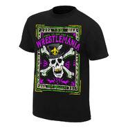 WrestleMania 34 Voodoo Skull T-Shirt
