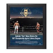 Andrade Almas NXT TakeOver Philadelphia 2018 15 x 17 Framed Plaque