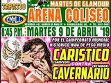 CMLL Guadalajara Martes (April 9, 2019)