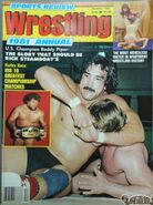 Sports Review Wrestling - Summer 1981