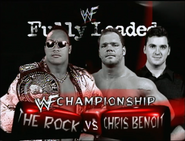 The Rock vs. Chris Benoit Fully Loaded 2000