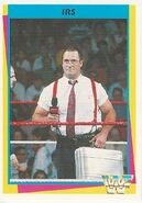 1995 WWF Wrestling Trading Cards (Merlin) IRS 126