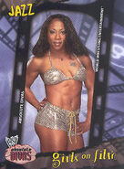 2002 WWE Absolute Divas (Fleer) Jazz 90