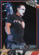 2013 TNA Impact Glory Wrestling Cards (Tristar) Sting 60