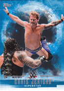2017 WWE Undisputed Wrestling Cards (Topps) Chris Jericho 10
