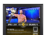 Bobby Roode NXT TakeOver Orlando 15 x 17 Framed Plaque w Ring Canvas