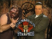 Mankind vs. Triple H In Your House Canadian Stampede