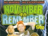 November to Remember 1998