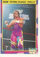 1995 WWF Wrestling Trading Cards (Merlin) Bob Holly 70