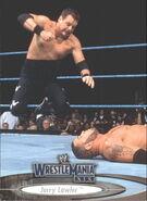 2003 WWE WrestleMania XIX (Fleer) Jerry Lawler 34