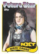 2018 WWE Heritage Wrestling Cards (Topps) Nikki Cross 105