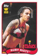 2018 WWE Heritage Wrestling Cards (Topps) Ruby Riott 64