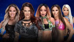 Evolution 2018 LIta & Trish Stratus vs. Alexa Bliss & Mickie James