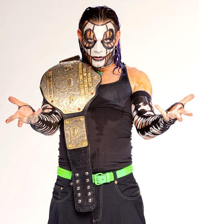 Jeff Hardy World Heavyweight Champion