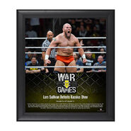 Lars Sullivan NXT WarGames 15 x 17 Framed Plaque